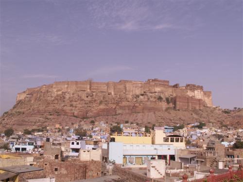 Jodhpur - die blaue Stadt