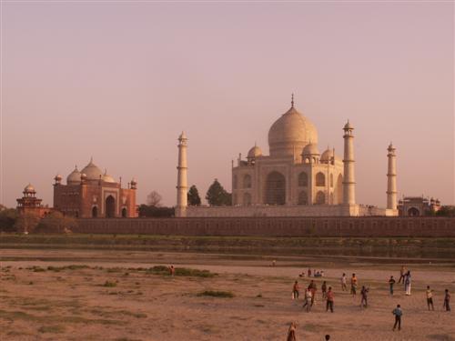 Taj Mahal vom Sunsetpoint aus