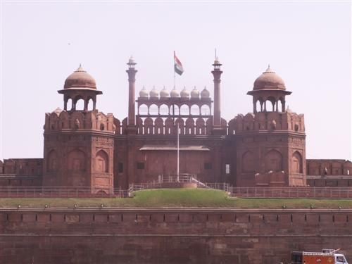 Das Rote Fort in Old Dehli