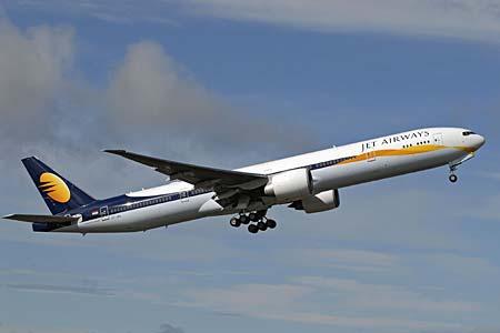 Jet airways ist indiens führende private fluggesellschaft. die