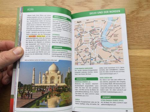 Agra und der Taj Mahal im Marco Polo Reiseführer.