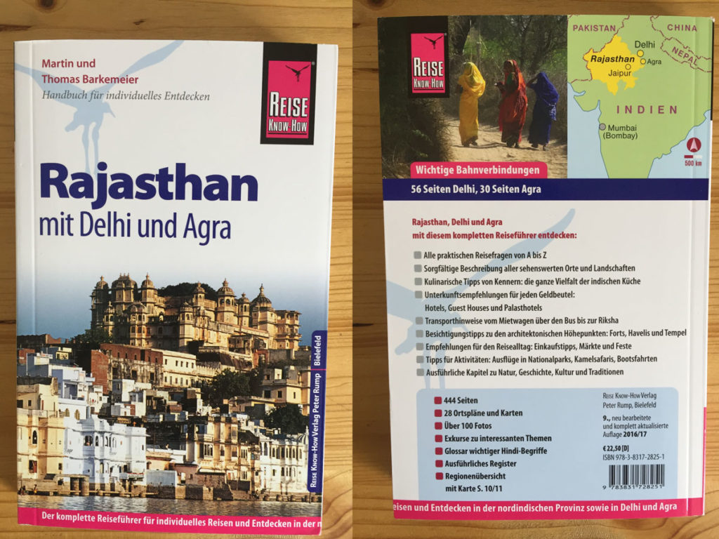 "Reise Know-How ""Rajasthan mit Delhi und Agra"""