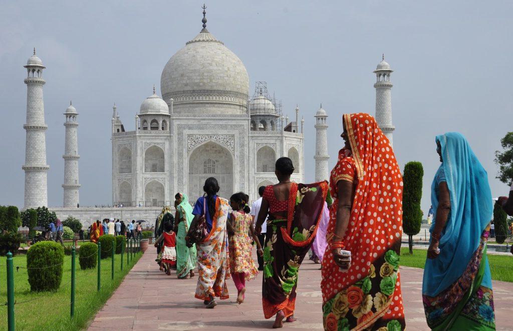 Eine Reise nach Indien: Das Taj Mahal in das Wahrzeichen von Rajasthan!
